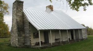 Built In The Mid-1700s, The Peter Burr House Is The Oldest Standing Wood Framed Structure In West Virginia