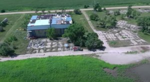 A Drone Flew High Above An Uninhabited Military Base In Nebraska And Caught The Most Incredible Footage
