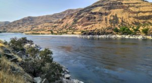 This Stretch Of Idaho's Snake River Is Filled With Clusters Of 4,500-Year-Old Petroglyphs
