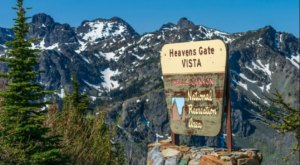 Drive To Heaven's Gate Lookout In Idaho Where You'll Enjoy A View Of Four Different States