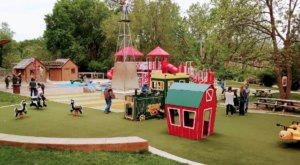 Michigan's Colorful County Farm Park Belongs On Your List Of Must-Visit Family Destinations