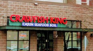 Make Sure To Come Hungry To The Build-Your-Own Seafood-Boil Restaurant, Crawfish King, In Washington