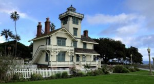 The Old Victorian Point Fermin Lighthouse In Southern California Is One Of The Last Remaining Of Its Kind