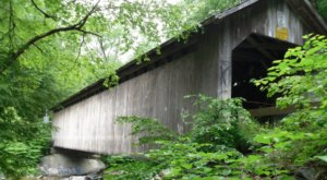 Recently Named A National Historic Landmark In Vermont, Brown Bridge Is One Of The Oldest Covered Bridges In The U.S.