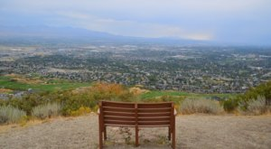 Sit Back, Relax, And Enjoy The Views At The Top Of Potato Hill Trail In Utah