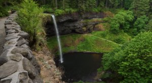 The Entire Trail Of 10 Falls At Silver Falls State Park In Oregon Can Now Be Taken From Your Couch