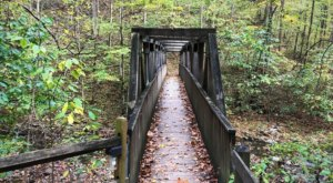 Hiking Lover's Leap Trail At Natural Tunnel State Park In Virginia Is Like Entering A Fairytale