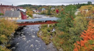 Cross Two Beautiful Bridges On This Easy 1-Mile River Walk In New Hampshire