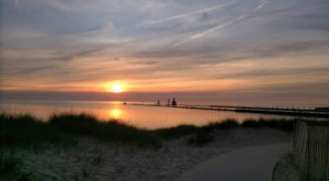 Tiscornia Park In Michigan Is A Gateway To Some Of The World's Most Spectacular Sunsets