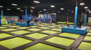 Maine's Largest Trampoline Park Offers 40,000 Square Feet Of A Bouncing Good Time