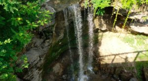Visit Little-Known Minnemishinona Falls For A Glimpse Of One Of Southern Minnesota's Tallest Waterfalls