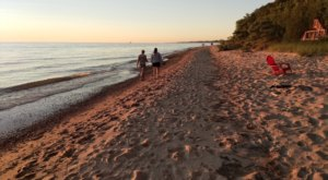You Might Just Have A Slice Of Paradise To Yourself At Douglas Beach, A Secluded Beach In Michigan