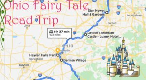 The Fairy Tale Road Trip That'll Lead You To Some Of Ohio's Most Magical Places