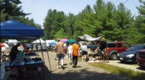 The Biggest And Best Flea Market In New Hampshire, Hollis Flea Market Is Now Re-Opening