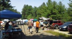 The Biggest And Best Flea Market In New Hampshire, Hollis Flea Market Is Now Re-Opening