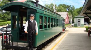 The Interactive Railway Village In Boothbay Maine That Will Enchant Train Lovers