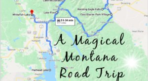 The Fairytale Road Trip That'll Lead You To Some Of Montana's Most Magical Places