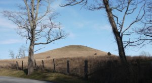 Trimble Knob, An Extinct Volcano In The Shenandoah Valley, Is One Of Virginia's Most Fascinating Natural Wonders