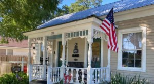 Built In 1893, The Cottage Downtown Is A Storybook Getaway In Breaux Bridge, Louisiana