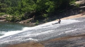 There's A Natural Waterslide In Georgia Hidden At Tallulah Gorge