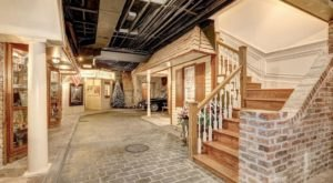This Maryland Mansion For Sale Has An Entire Town Hiding In The Basement