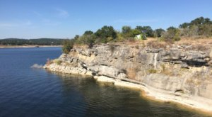 Pace Bend Park Is A Cliffside Oasis With Some Of The Bluest Water In Texas