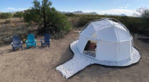 Sleep In A Dome Underneath The Sprawling West Texas Night Sky With Big Bend Glamping In Texas