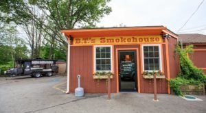 The Best Slow-Smoked BBQ In Massachusetts Can Be Found At B.T.'s Smokehouse