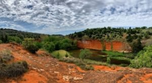 The Red Rock Canyon Rim Trail Will Show You A Completely New Side Of Oklahoma