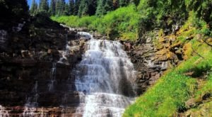 Hiking At Florence Falls Trail In Montana Is Like Entering A Fairytale