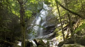 Race Brook Falls Trail In Massachusetts Leads To Waterfalls With Unparalleled Views