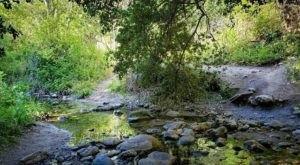Plan A Visit To Santa Ynez Falls, Southern California's Beautifully Blue Waterfall