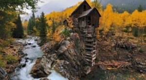 The Most-Photographed Mill In The Country Is Right Here In The Colorado Mountains