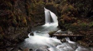 Hiking At Virgin Creek Falls In Alaska Is Like Entering A Fairytale