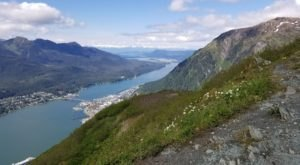 Climb High On Gastineau Peak In Alaska For Panoramic Views Over Juneau