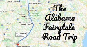 The Fairytale Road Trip That'll Lead You To Some Of Alabama's Most Magical Places