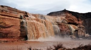 This Easy, One-Mile Trail Leads To Grand Falls, One Of Arizona's Most Underrated Waterfalls