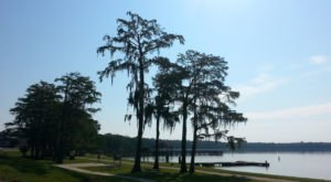 The Alabama City Park That Wraps Around A Beautiful Lake