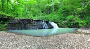 A Trail Full Of Creek Cascade Views By Bliss Spring Hollow Will Lead You To A Waterfall Paradise In Arkansas