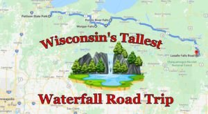 Spend The Day Exploring Wisconsin's Tallest Falls On This Wonderful Waterfall Road Trip