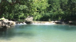 Enjoy Crystal-Clear Water At Little Niagara, A Gorgeous Swimming Hole Tucked Away In Southern Oklahoma