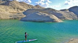 Take A Peaceful Paddling Trip Through The Pristine Lake Powell In Arizona