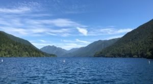 Some Of The Cleanest And Clearest Water Can Be Found At Washington's Lake Crescent