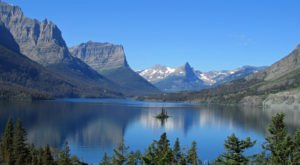 Montanans Will Never Forget Their First Time Visiting Saint Mary Lake