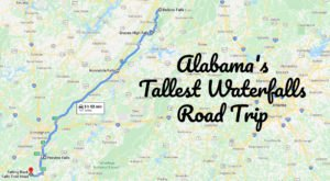 Spend The Day Exploring Alabama's Tallest Falls On This Wonderful Waterfall Road Trip