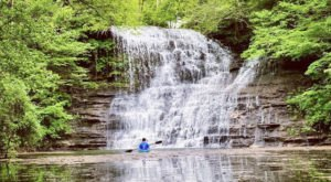 Paddle To Hidden Waterfalls On Lake Cumberland With A Bucket List-Worthy Adventure In Kentucky