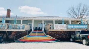Savor Summer With Hand-Dipped Ice Cream On The Colorful Front Porch Of Cafe Cream In Kentucky