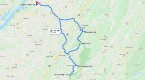 The 2-Hour Road Trip Around Alabama's 'Waterfall Loop' Is A Glorious Summer Adventure
