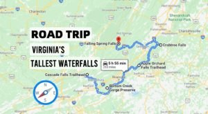 Spend The Day Exploring Virginia's Tallest Falls On This Wonderful Waterfall Road Trip