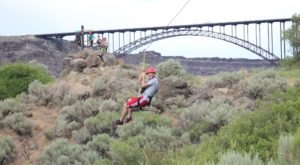 This Zipline Course Through Idaho's Snake River Canyon Is The Stuff Dreams Are Made Of
